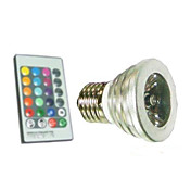 E27 5W RGB Light LED Spot Bulb (110-240V)