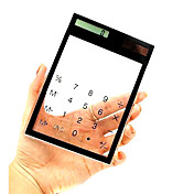 Transparent Touch Pad Solar Power Desktop Calculator (CEG173)