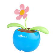 energa solar flip flap de plantas de flores