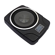 8 Inch Car Audio Amplified Subwoofer - Super Slim - Shakeproof - 100W - MBQ-800D