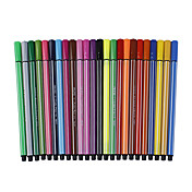 12 Colors Water Color Pens Set (12-Pack)