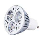 gu10 3w 270lm 6000-6300K natrliches weies Licht LED Spot Lampe (220V)
