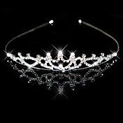 Clear Crystals Wedding Bridal Headpiece/ Headband