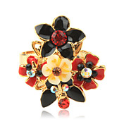 Flower Authentic JuliePrs Exquisite Ring- Adjustable