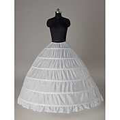 Nylon Ball Gown Full Gown 1 Tier Floor-length Slip Style/ Wedding Petticoats
