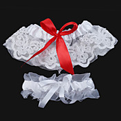 2-Piece Lovely Lace With Satin Bowknot Wedding Garters