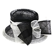 lino splendido matrimonio con bowknot / festa / cappello luna di miele (1192-002)