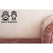 King&Queen Decorative Wall Sticker(0565-1105102)