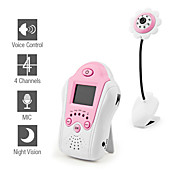 Baby Monitor with Night Vision and AV OUT (Flower Design)
