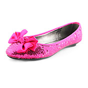 PU Upper Flat Closed-toes With Bowknot Casual Shoes