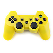 Rechargeable USB DualShock 3 Wireless Controller for PS3 (Yellow)
