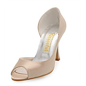 ZEVIDA - Pumps Bryllup Stilletthæler Satin
