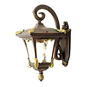 60W Antique Inspired Wall Light