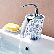 Ceramic Faucet Blue and White Porcelain (Finish Painting)