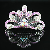 splendida cz cubic zirconia fiore ragazza tiara colori / copricapo pi disponibile