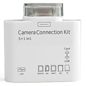 Camera Connection Kit with Card Reader for iPad, iPad 2 and the New iPad