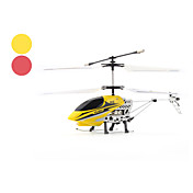 6689-2 Palm Size Gyro 2-Channel LED RC Helicopter with Speed Control