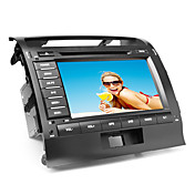 8 de pulgada de coches reproductor de DVD para Toyota Land Cruiser (gps, bluetooth, tv, rds)