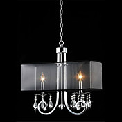 Elegant Crystal Ceiling Light with 2 Lights