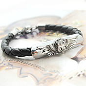 Flying Skull Titanium Steel Bracelet
