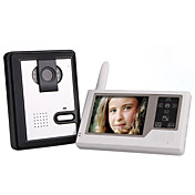 2.4GHz Wireless 3.5 Inch Touch Screen Monitor Video Door Phone with Camera
