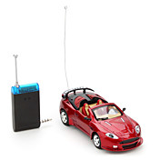 Remote Control Racing Car for iPhone, iPad and Android (1:43 Scale, Red)