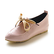 Patent Leather Lace-up Flats (More Colors)