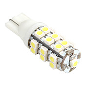 T10 25 smd 120-150lm hvitt lys LED-pre for bil side lamper (12v)