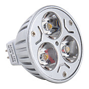 GU5.3 3x1W 3-LED 270lm 12v lmpada de luz branca morna