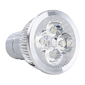GU5.3 4x1W 4-LED 360Lm White Light Bulb 85-265V