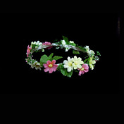 Nature Style Wedding Flower Girl Wreath