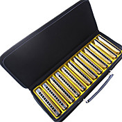 Huang - (103Y) Archaize Deluxe Harmonica 12 Keys Pack/10 Holes/20 Tones