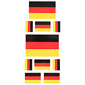 5 Pcs Flag of Germany Temporary Tattoo