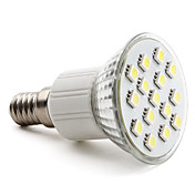 E14 5050 SMD 15-LED White 150-200LM Light Bulb (230V, 2-2.5W)