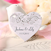 Personalized Heart Shaped Favor Tag - Joy (Set of 60)