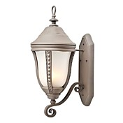 Traditional Metal Wall Light with 1 Light