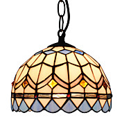 60W Tiffany Pendant Light with 1 Light