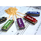 Kaine - (K4-1) Mini Necklace Harmonica C key/4 Holes/8 Tones