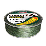 Complex PE Braided Line 100m (Dark Green)