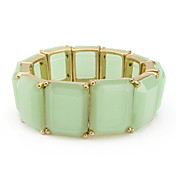 Fashion Ladies' Green Resin In Bracelet