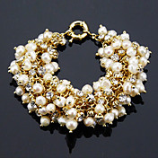Fashion Ladies' Pearl In Alloy Bracelet