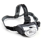 8-LED Headlamp Powered by 3 x AAA Batteries (80LM)