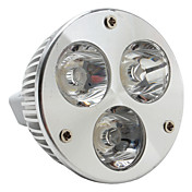 MR16 3W 240-270LM 3000-3500K Warm White Light LED Spot Bulb (12V)