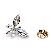 Gorgeous Alloy With Rhinestones / Crystal Brooch