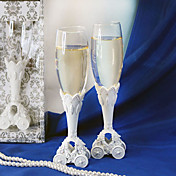 Fairytale Coach Wedding Wedding Toasting Flutes