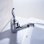 Sprinkle® by Lightinthebox - Contemporary Solid Brass Single Handle Bidet Faucet Chrome Finish