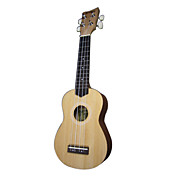 Zachary - (UY-21) Spruce Soprano Ukulele with Gig Bag/String