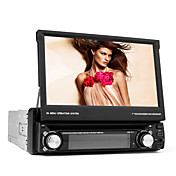 (Europa Ocidental mapa incluído) 7 polegadas 1DIN carro dvd player (gps, tv, rds, menu 3d, pip)