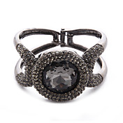 Gorgeous Ladies' Black Charm Bracelet