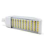 G24 50-5050 SMD 10W 750LM 6000K White Light LED Corn Bulb (220V)